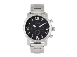 Fossil JR1353I Men Black Dial Chronograph Watch