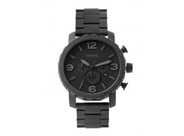 Fossil JR1401I Men Black Dial Chronograph Watch