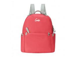 Geine Crush Peach Backpack For Girl's