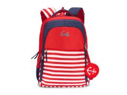 Geine Red Backpack For Girls