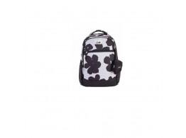 Genie Caramel Black 36L Backpack For Girls