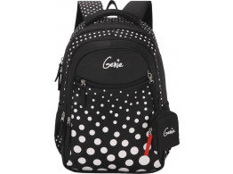 GENIE FIZZ BLACK 17 SCHOOL BAGS FOR GIRLS