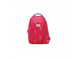 Genie Giraffe Pink 19L Backpack For Kids