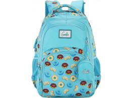 Genie Glaze Blue 27 L Backpack For Girls