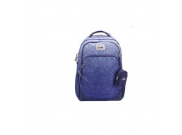 Genie Glitterati Blue 36L Backpack For Girls
