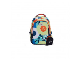 Genie Hannah Orange 19L Backpack For Kids