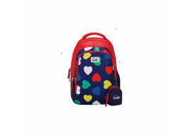 Genie Hearts Red 19L Backpack For Kids