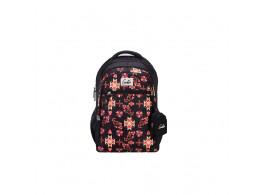 Genie Kaleidoscope Black 36L Backpack For Kids