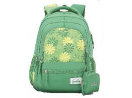 Genie Lily Green 17 L Backpack For Girls