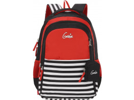 GENIE NAUTICAL PLUS BLACK 27L SCHOOL BAGS FOR GIRLS