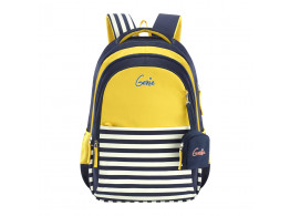 GENIE NAUTICAL PLUS YELLOW 17 SCHOOL BAGS FOR GIRLS