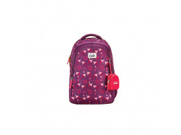 Genie Origami Purple 36L Backpack For Girls