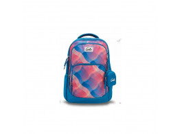 Genie Plaids Blue 36L Backpack For Girls