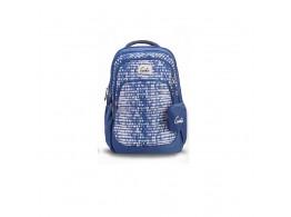 Genie Raindrop Blue 36L Backpack For Girls