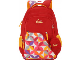 GENIE SPRAY RED 17 SCHOOL BAGS FOR GIRLS