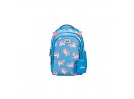 Genie Unicorn Blue 19L Backpack For Kids