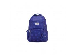 Genie Velventeen Purple 27L Backpack For Kids