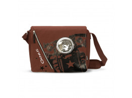 GENIUS INFERNO BROWN MESSENGER BAGS