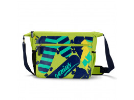 GENIUS SKATE GREEN MESSENGER BAGS