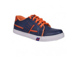 Glamour Blue Orange Casual Shoes