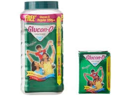 Glucon-D Instant Energy, 1 Kg Jar With Free Glucon-D Orange 200g
