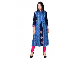 Shopwell Festive & Party Embroidered Women's Kurti