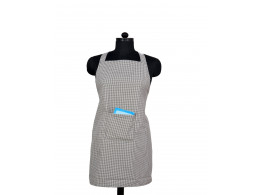 Switchon Mini checks Apron with pocket