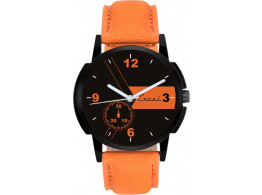 Men's Excel Classy Brown Analog Watch