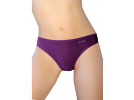 Pusyy Clistoria Women's Bikini Purple Panty  (Pack of 1)