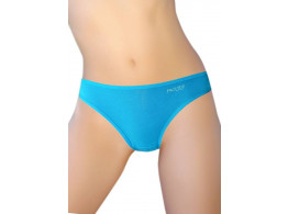 Pusyy Clistoria Women's Bikini Blue Panty  (Pack of 1)