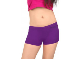 Pusyy Women's Boy Short Purple Panty  (Pack of 1)