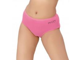 Pusyy Bigydiky Women's Hipster Pink Panty  (Pack of 1)