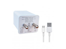 Oppo Mobile Charger With Oppo Cable 2 AMP White
