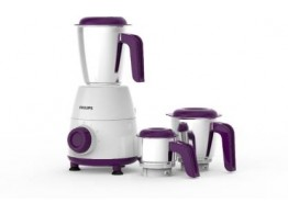 Philips Daily Collection HL7505/00 White 3 Jars 500 W Mixer Grinder
