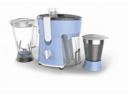 Philips HL7575/00 Blue 2 Jars 600 W Juicer Mixer Grinder