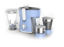 Philips HL7576/00 Blue 3 Jars 600 W Juicer Mixer Grinder