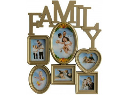 Divinecrafts Generic Photo Frame  (Photo Size - 5x7, 6 Photos)