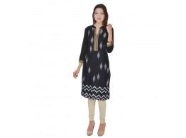 Pneha Women's 3/4 Sleeve Printed kurti