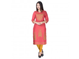 Radha's Embroidered Women's A-line Kurta