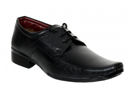 RUDOSE Men's Patent Leather Formal Shoes