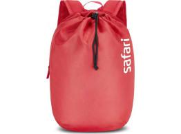 Safari Drawstring Cherry Red 10 L Daypack