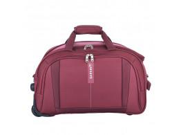 Safari Revv RDFL 20 inch Maroon Duffel Strolley Bag