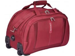Safari Revv RDFL 25 inch Marron Duffel Strolley Bag