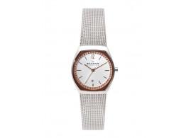 SKAGEN SKW2051I Women Silver-Toned Dial Watch