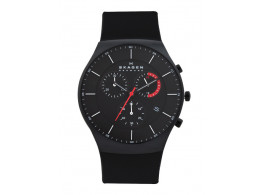 SKAGEN SKW6075 Men Black Dial Chronograph Watch