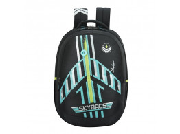 SKYBAGS ASTRO 03 AIRPLANE THEME BLACK 32L SCHOOL BACKPACK