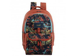 SKYBAGS ASTRO EXTRA 04 TIFFIN BOX CORAL 36L SCHOOL BACKPACK