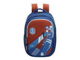 SKYBAGS ASTRO PLUS 04 CRICKET THEME BLUE 34L SCHOOL BACKPACK