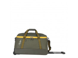 SKYBAGS BOOM DUFFLE TROLLEY 59 GREEN