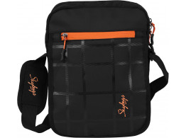 Skybags Excursion Bag 02 Black With Cross Body Sling